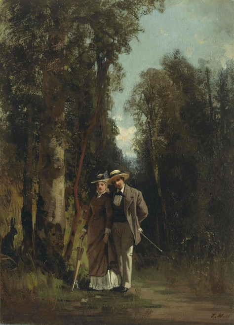 Art Prints of In the Lane by Thomas Hill