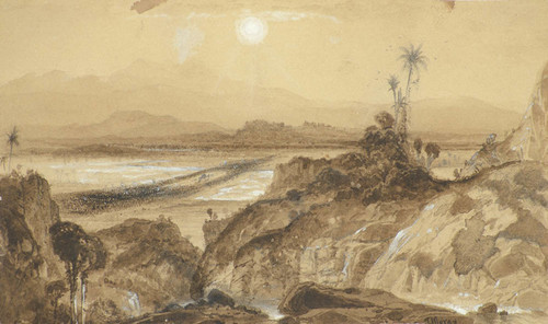 Art Prints of A View of Mexico by Thomas Moran