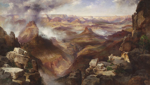 Art Prints of Grand Canyon of the Colorado River by Thomas Moran