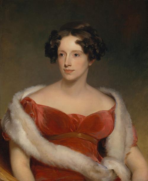 Art Prints of Mrs. John Biddle by Thomas Sully