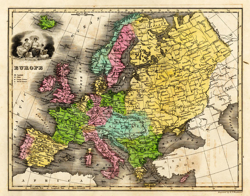 Art Prints of Europe, 1842 (0902009) by Thomas T. Smiley