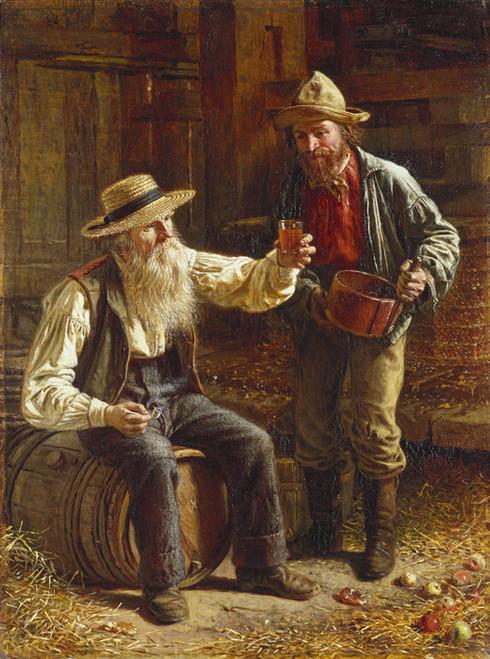 Art Prints of New Cider by Thomas Waterman Wood