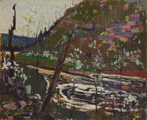 Art Prints of Cherry Trees in Blossom by Tom Thomson