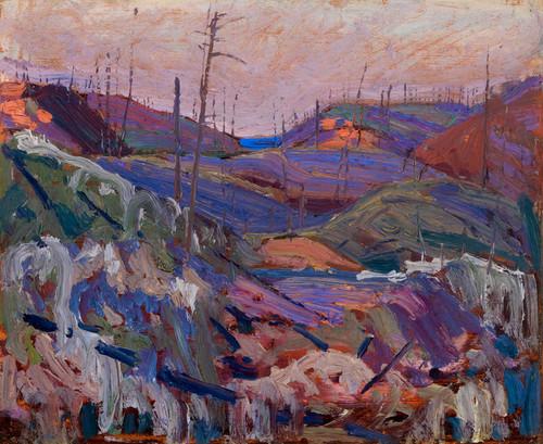 Art Prints of Fire Swept Hills by Tom Thomson