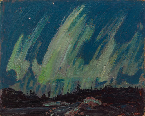 Art Prints of Northern Lights, Summer by Tom Thomson