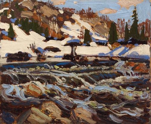 Art Prints of Rapids by Tom Thomson