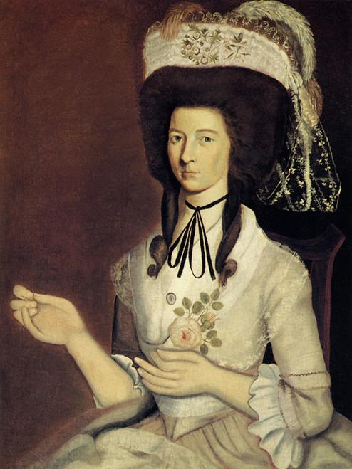 Art Prints of Mrs. John Mix by an Unknown Artist