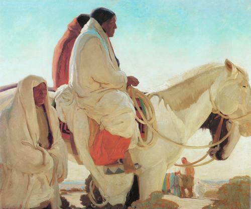 Art Prints of Fiesta Day 1918 by Victor Higgins