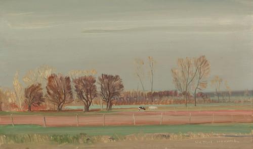 Art Prints of Pastoral Landscape by Victor Higgins