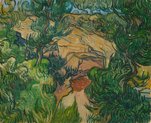 Art Prints of Entrance to a Quarry by Vincent Van Gogh