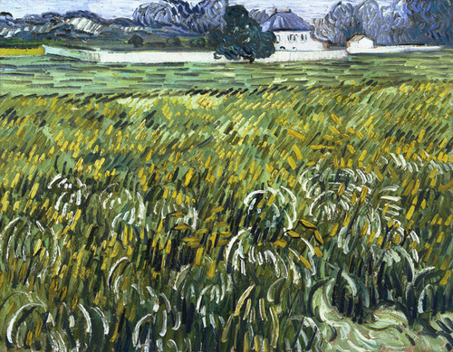 Art Prints of House at Auvers by Vincent Van Gogh