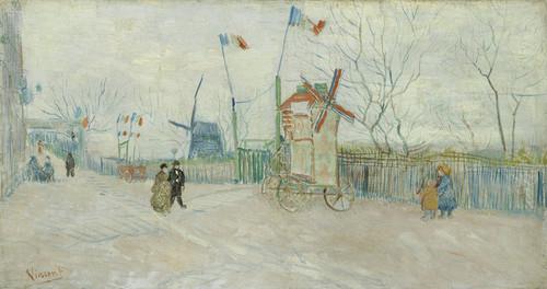 Art Prints of Impasse des Deux Freres by Vincent Van Gogh