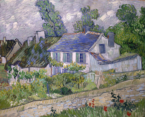 Art Prints of Houses at Auvers II by Vincent Van Gogh