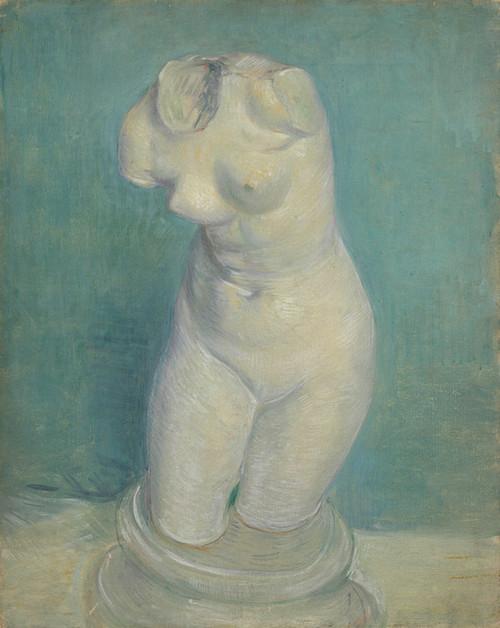 Art Prints of Plaster Cast of a Woman's Torso by Vincent Van Gogh