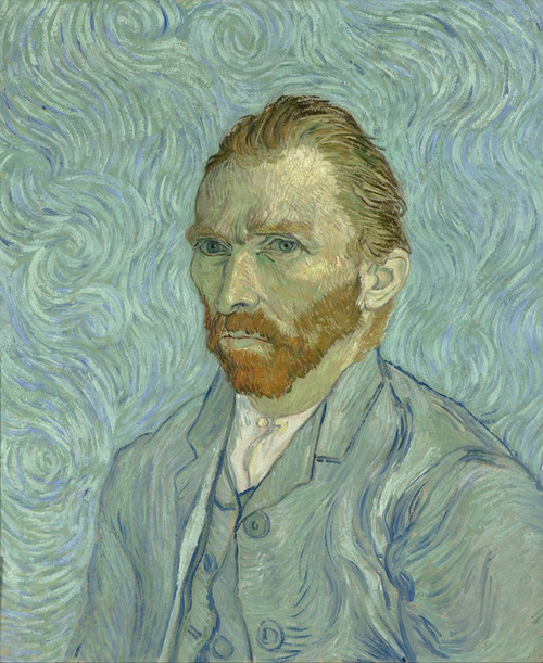 Art Prints of Self Portrait I by Vincent Van Gogh