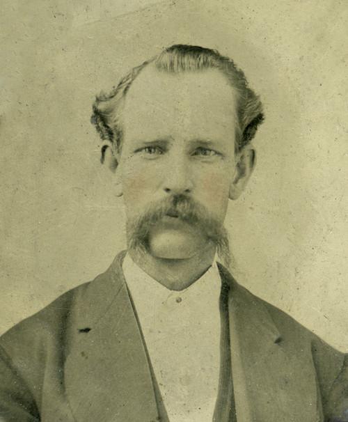 Art Prints of Portrait of a Man, Tintype 16, Vintage Tintype