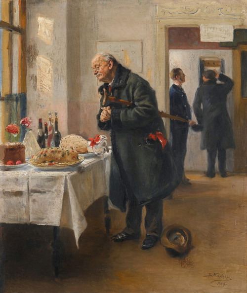 Art Prints of Gastronome by Vladimir Egorovich Makovsky
