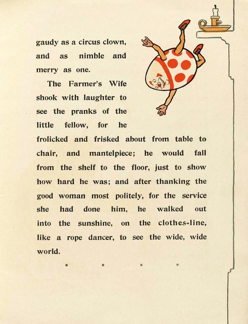 Art Prints of Humpty Dumpty, Page 9 by W.W. Denslow, Children's Book