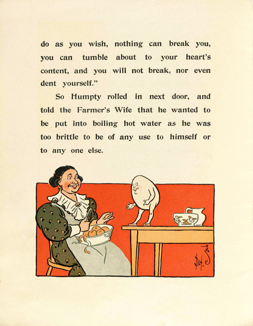 Art Prints of Humpty Dumpty, Page 6 by W.W. Denslow, Children's Book