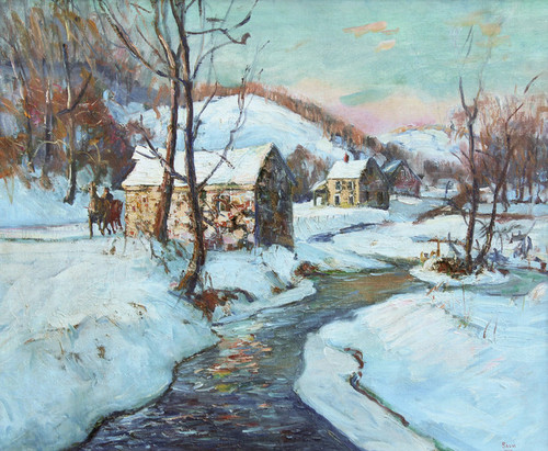 Art Prints of Mill by Walter Baum