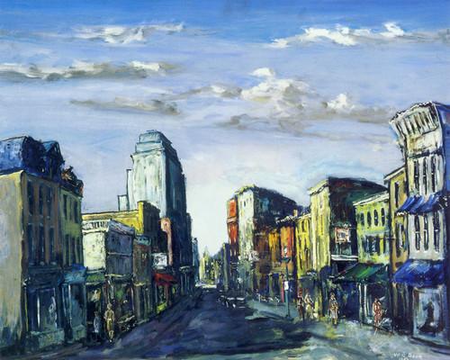 Art Prints of Quaint Street by Walter Baum