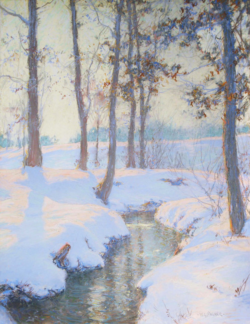 Art Prints of Brook in Winter by Walter Launt Palmer