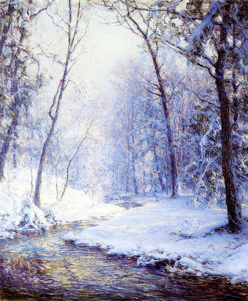 Art Prints of Early Snow by Walter Launt Palmer
