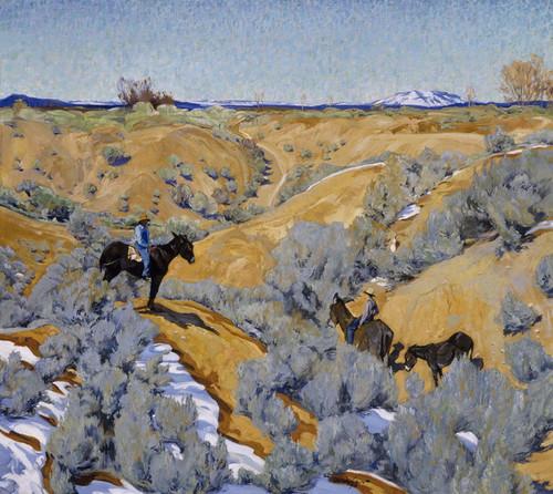 Art Prints of In an Arroyo by Walter Ufer