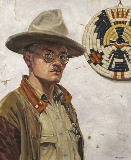 Art Prints of Self Portrait by Walter Ufer