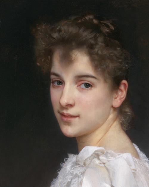 Art Prints of Gabrielle Cos by William Bouguereau