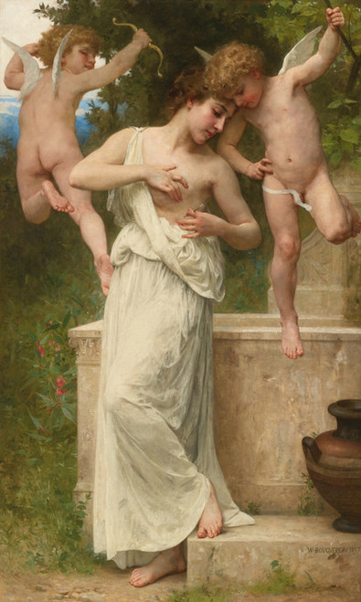 Art Prints of Love Injuries by William Bouguereau