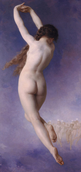 Art Prints of Lost Pleiad by William Bouguereau