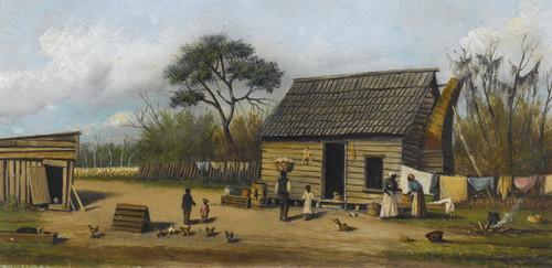 Art Prints of Farmyard by William Aiken Walker