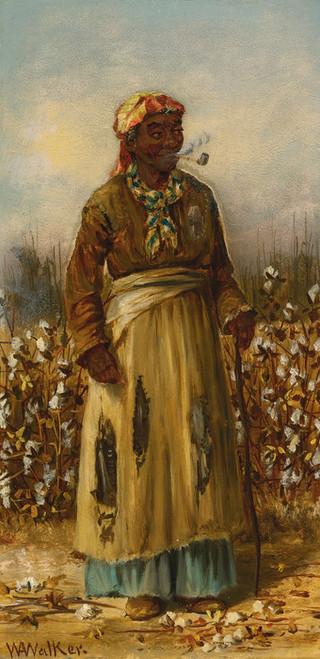 Art Prints of A Walk in the Cotton by William Aiken Walker