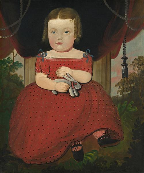 Art Prints of Little Miss Fairfield by William Matthew Prior