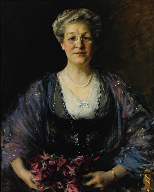 Art Prints of Portrait of Matilda Herbert Lloyd by William Merritt Chase