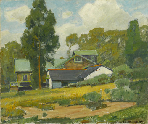 Art Prints of Laguna Cottages by William Wendt