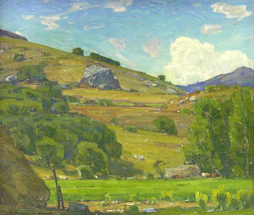 Art Prints of Pasture Lands by William Wendt