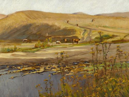 Art Prints of San Juan Creek by William Wendt