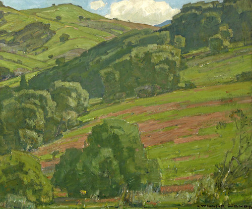 Art Prints of Along the Foothills by William Wendt