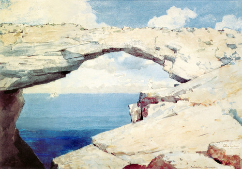 Art Prints of Glass Windows, Bahamas by Winslow Homer
