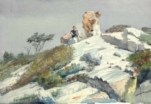 Art Prints of Rough Work by Winslow Homer