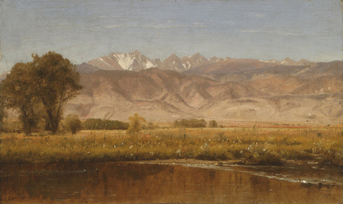 Art Prints of Foothills, Colorado by Worthington Whittredge