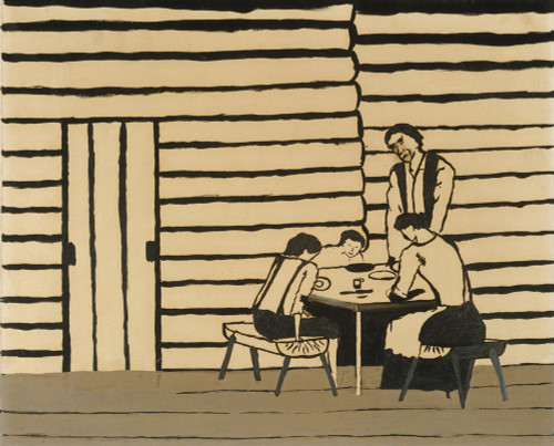 Family Supper by Horace Pippin | Fine Art Print