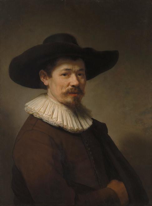 Portrait of Herman Doomer by Rembrandt van Rijn | Fine Art Print