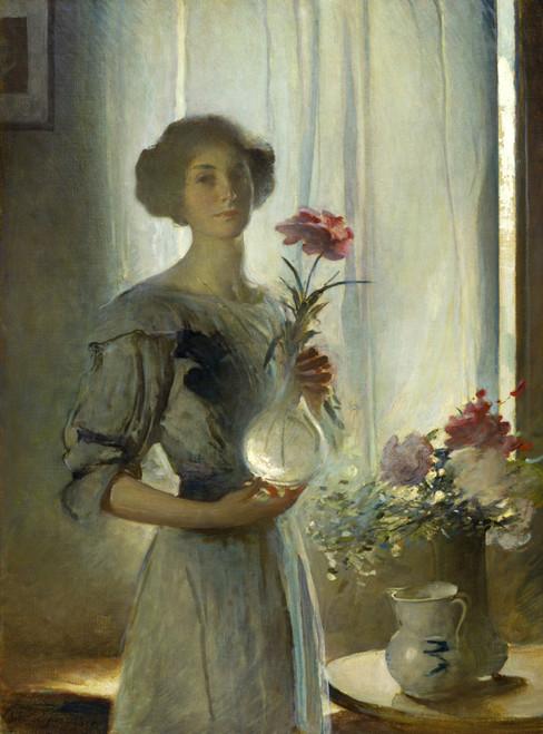 June by John White Alexander | Fine Art Print