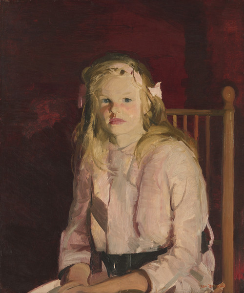 Julie Hudson by George Bellows   Fine Art Print