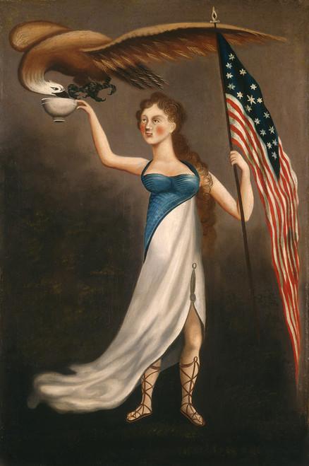 Art Prints of Liberty by 19th Century American Artist