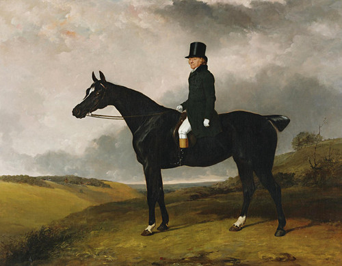 Art Prints of Daniel Haigh on His Horse Kitten by Abraham Cooper