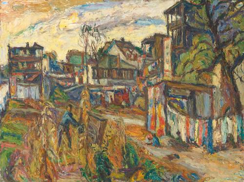 Art Prints of City Scene by Abraham Manievich